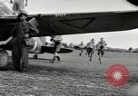 Image of Royal Netherlands Indies pilots Singapore Kallang Airfield, 1941, second 34 stock footage video 65675061822