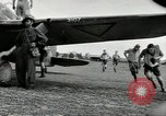 Image of Royal Netherlands Indies pilots Singapore Kallang Airfield, 1941, second 35 stock footage video 65675061822