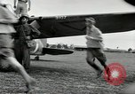 Image of Royal Netherlands Indies pilots Singapore Kallang Airfield, 1941, second 36 stock footage video 65675061822