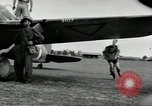Image of Royal Netherlands Indies pilots Singapore Kallang Airfield, 1941, second 37 stock footage video 65675061822