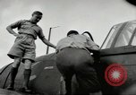 Image of Royal Netherlands Indies pilots Singapore Kallang Airfield, 1941, second 38 stock footage video 65675061822