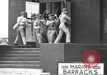 Image of U.S. marines in defensive exercises Pearl Harbor Hawaii USA, 1941, second 34 stock footage video 65675061836