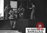 Image of U.S. marines in defensive exercises Pearl Harbor Hawaii USA, 1941, second 35 stock footage video 65675061836