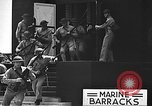 Image of U.S. marines in defensive exercises Pearl Harbor Hawaii USA, 1941, second 36 stock footage video 65675061836