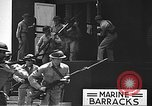 Image of U.S. marines in defensive exercises Pearl Harbor Hawaii USA, 1941, second 38 stock footage video 65675061836