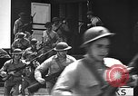 Image of U.S. marines in defensive exercises Pearl Harbor Hawaii USA, 1941, second 40 stock footage video 65675061836