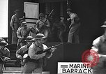 Image of U.S. marines in defensive exercises Pearl Harbor Hawaii USA, 1941, second 41 stock footage video 65675061836
