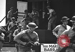 Image of U.S. marines in defensive exercises Pearl Harbor Hawaii USA, 1941, second 42 stock footage video 65675061836