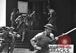 Image of U.S. marines in defensive exercises Pearl Harbor Hawaii USA, 1941, second 44 stock footage video 65675061836