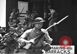 Image of U.S. marines in defensive exercises Pearl Harbor Hawaii USA, 1941, second 46 stock footage video 65675061836