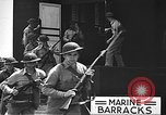 Image of U.S. marines in defensive exercises Pearl Harbor Hawaii USA, 1941, second 49 stock footage video 65675061836
