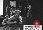 Image of U.S. marines in defensive exercises Pearl Harbor Hawaii USA, 1941, second 50 stock footage video 65675061836