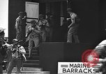 Image of U.S. marines in defensive exercises Pearl Harbor Hawaii USA, 1941, second 51 stock footage video 65675061836