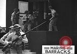 Image of U.S. marines in defensive exercises Pearl Harbor Hawaii USA, 1941, second 52 stock footage video 65675061836