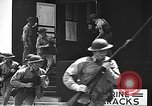 Image of U.S. marines in defensive exercises Pearl Harbor Hawaii USA, 1941, second 53 stock footage video 65675061836