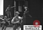 Image of U.S. marines in defensive exercises Pearl Harbor Hawaii USA, 1941, second 54 stock footage video 65675061836