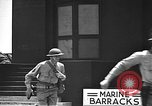 Image of U.S. marines in defensive exercises Pearl Harbor Hawaii USA, 1941, second 57 stock footage video 65675061836