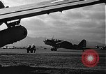 Image of U.S. military aircraft on Ford Island Pearl Harbor Hawaii USA, 1942, second 56 stock footage video 65675061838