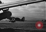 Image of U.S. military aircraft on Ford Island Pearl Harbor Hawaii USA, 1942, second 58 stock footage video 65675061838