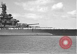 Image of USS Colorado (BB-45) maneuvering to Berth F-12A Pearl Harbor Hawaii USA, 1942, second 10 stock footage video 65675061843
