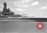 Image of USS Colorado (BB-45) maneuvering to Berth F-12A Pearl Harbor Hawaii USA, 1942, second 12 stock footage video 65675061843