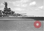 Image of USS Colorado (BB-45) maneuvering to Berth F-12A Pearl Harbor Hawaii USA, 1942, second 13 stock footage video 65675061843