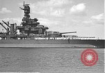 Image of USS Colorado (BB-45) maneuvering to Berth F-12A Pearl Harbor Hawaii USA, 1942, second 17 stock footage video 65675061843