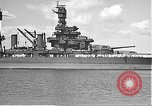 Image of USS Colorado (BB-45) maneuvering to Berth F-12A Pearl Harbor Hawaii USA, 1942, second 22 stock footage video 65675061843