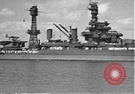 Image of USS Colorado (BB-45) maneuvering to Berth F-12A Pearl Harbor Hawaii USA, 1942, second 27 stock footage video 65675061843