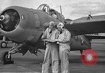 Image of LCDR John Thach and Lt. Edward O'Hare preparing for a flight Kaneohe Hawaii USA, 1942, second 21 stock footage video 65675061850
