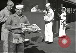 Image of United States sailors learn about end of World War II Hawaii USA, 1945, second 5 stock footage video 65675061871