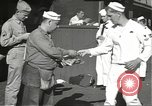 Image of United States sailors learn about end of World War II Hawaii USA, 1945, second 8 stock footage video 65675061871