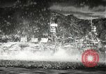 Image of Pearl Harbor attack from Japanese perspective Pearl Harbor Hawaii USA, 1941, second 24 stock footage video 65675061872