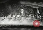 Image of Pearl Harbor attack from Japanese perspective Pearl Harbor Hawaii USA, 1941, second 25 stock footage video 65675061872