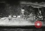 Image of Pearl Harbor attack from Japanese perspective Pearl Harbor Hawaii USA, 1941, second 26 stock footage video 65675061872