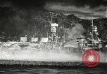 Image of Pearl Harbor attack from Japanese perspective Pearl Harbor Hawaii USA, 1941, second 27 stock footage video 65675061872
