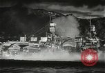 Image of Pearl Harbor attack from Japanese perspective Pearl Harbor Hawaii USA, 1941, second 29 stock footage video 65675061872