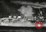 Image of Pearl Harbor attack from Japanese perspective Pearl Harbor Hawaii USA, 1941, second 30 stock footage video 65675061872