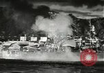 Image of Pearl Harbor attack from Japanese perspective Pearl Harbor Hawaii USA, 1941, second 31 stock footage video 65675061872