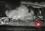 Image of Pearl Harbor attack from Japanese perspective Pearl Harbor Hawaii USA, 1941, second 33 stock footage video 65675061872