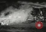 Image of Pearl Harbor attack from Japanese perspective Pearl Harbor Hawaii USA, 1941, second 36 stock footage video 65675061872