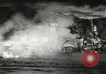 Image of Pearl Harbor attack from Japanese perspective Pearl Harbor Hawaii USA, 1941, second 37 stock footage video 65675061872