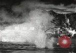 Image of Pearl Harbor attack from Japanese perspective Pearl Harbor Hawaii USA, 1941, second 39 stock footage video 65675061872