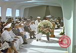 Image of Arizona Memorial Honolulu Hawaii USA, 1962, second 15 stock footage video 65675061877