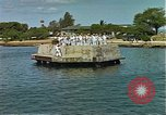 Image of Arizona Memorial Honolulu Hawaii USA, 1962, second 43 stock footage video 65675061877