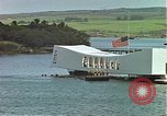 Image of USS Arizona memorial Honolulu Hawaii USA, 1962, second 8 stock footage video 65675061879
