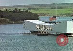 Image of USS Arizona memorial Honolulu Hawaii USA, 1962, second 9 stock footage video 65675061879