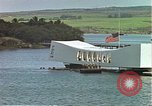 Image of USS Arizona memorial Honolulu Hawaii USA, 1962, second 13 stock footage video 65675061879
