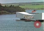 Image of USS Arizona memorial Honolulu Hawaii USA, 1962, second 20 stock footage video 65675061879