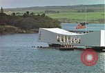 Image of USS Arizona memorial Honolulu Hawaii USA, 1962, second 21 stock footage video 65675061879